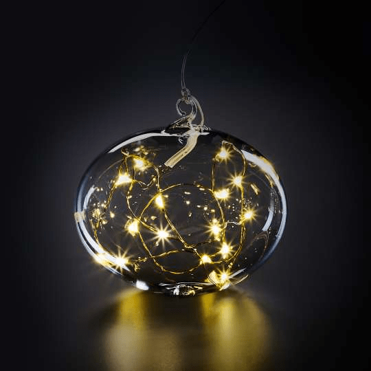 Led Weihnachtskugeln.Weihnachtskugel Aus Glas Led Light Ball L